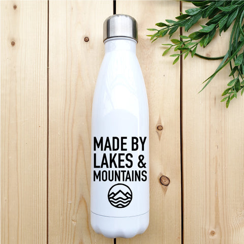 Made by Lakes and Mountains Water Bottle