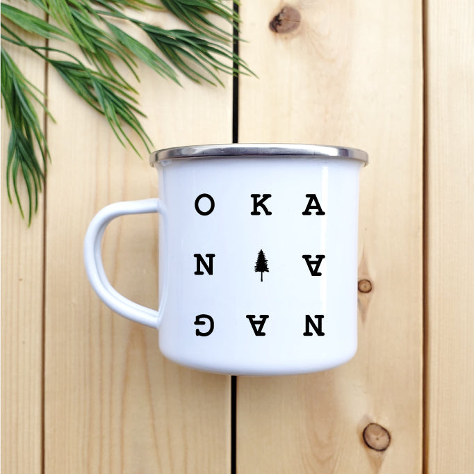 Okanagan Chart Camp Mug - Republic West