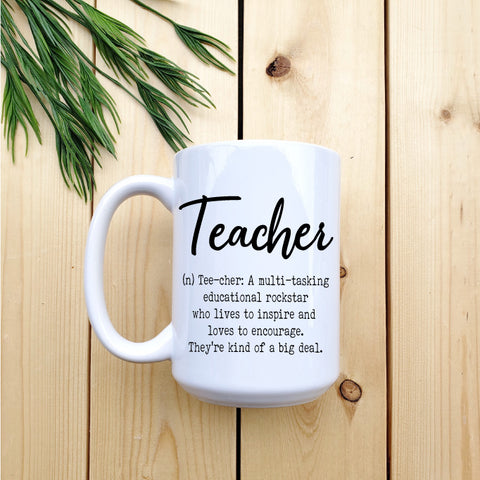 Teacher Definition Mug - Republic West