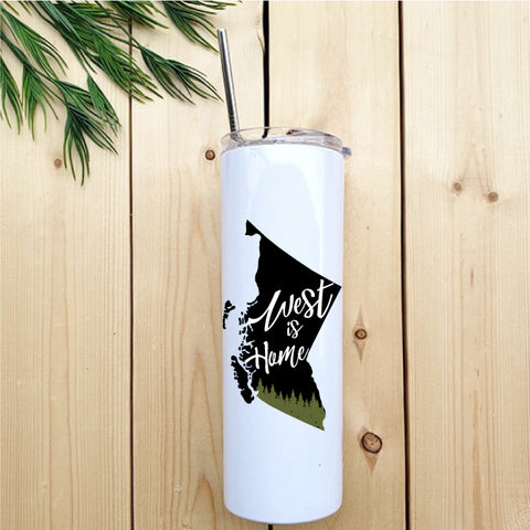West is Home Skinny Tumbler - Republic West