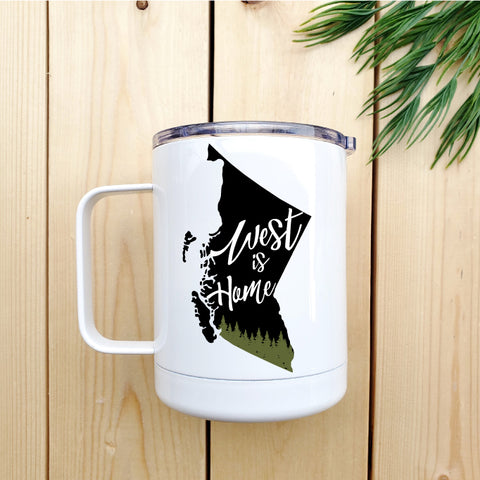 West is Home Travel Coffee Mug - Republic West