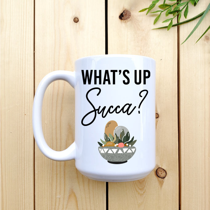 What's Up Succa? Mug - Republic West