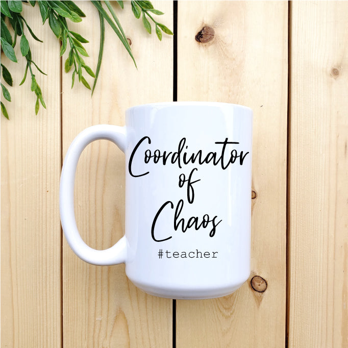 Coordinator of Chaos Teacher Mug - Republic West