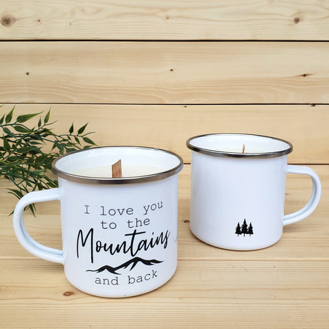 Camp Mug Candles - Knox Mountain