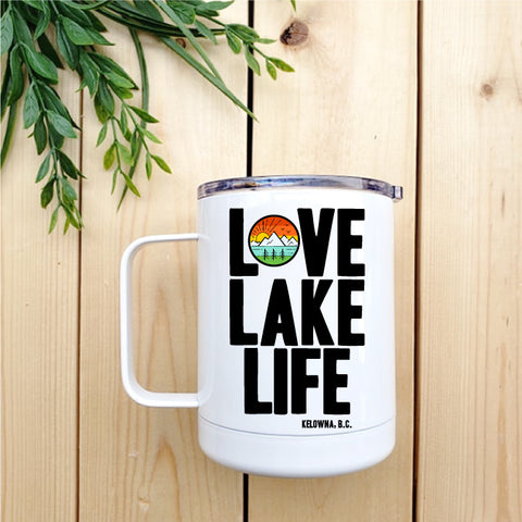 Love Lake Life - Kelowna Travel Coffee Mug - Republic West