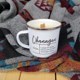 Camp Mug Candles - Okanagan Nights