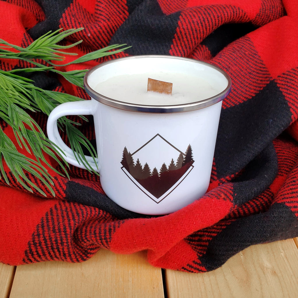 Camp Mug Candles - Republic West Limited Edition Winter Scent