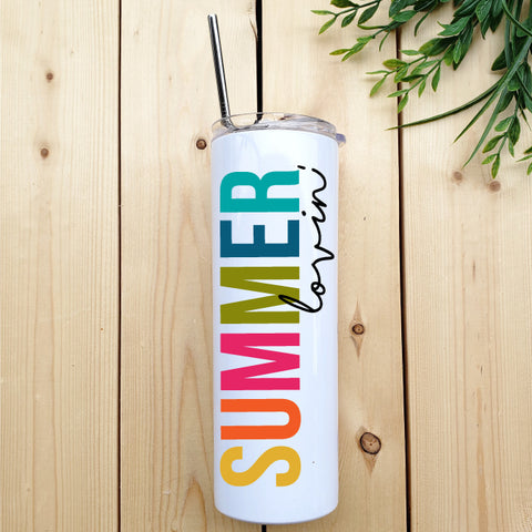 Summer Lovin' Skinny Tumbler - Republic West