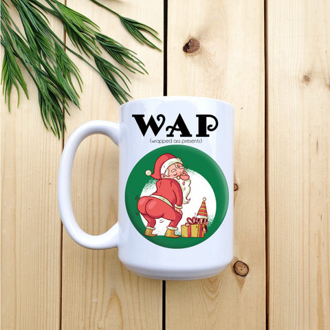 Wrapped Ass Presents - Mug