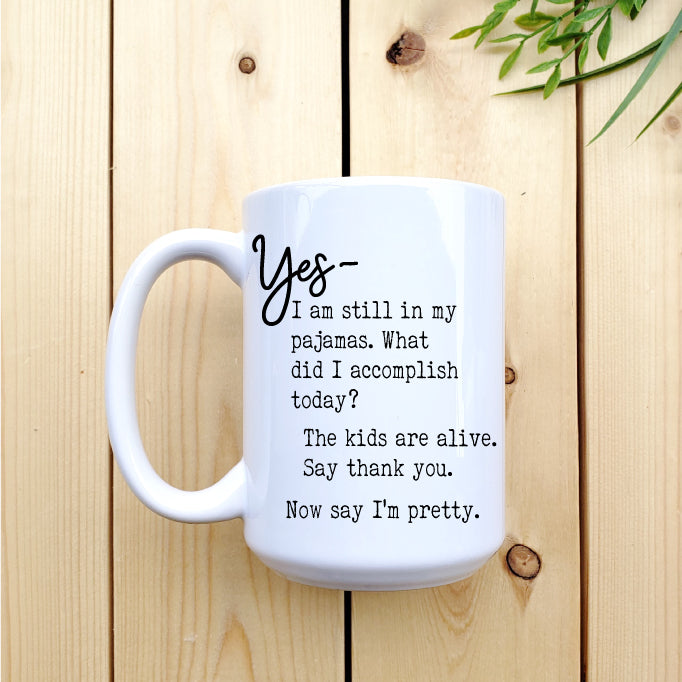 The Kids are Alive Mug - Republic West