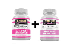 Aguaje and Maca Pills combo for Curvy Body / Weight Gain