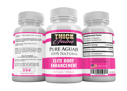 Aguaje Pills by Thick Gains