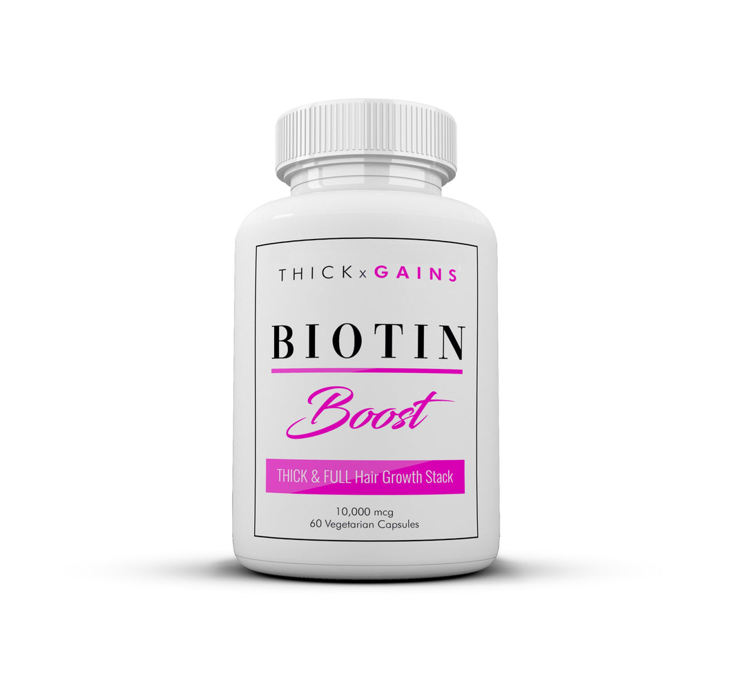 Biotin BOOST Thick FULL Hair Vitamins by Thick Gains