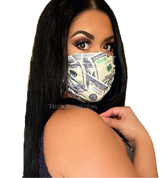 100 Money Facemask