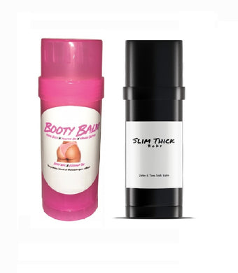Slim Thick Body Booty Balm Combo