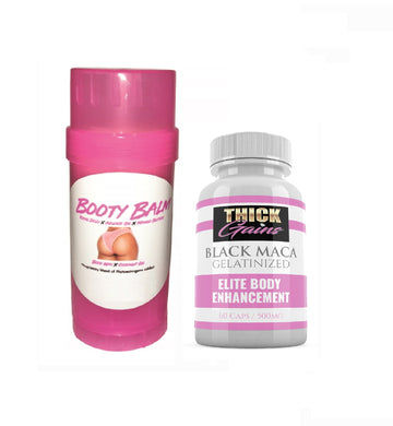 Booty Balm and Black Maca COMBO