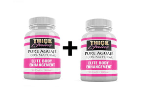 "2 x Aguaje Pills by Thick Gains ""Miracle Fruit"""