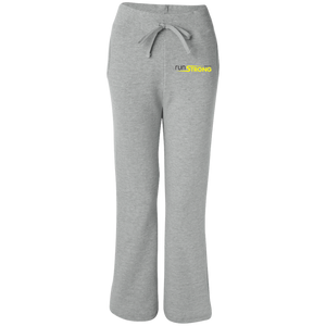 Gildan Women's Open Bottom Sweatpants with Pockets