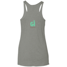 Guts and Butts 5k Ladies' Triblend Racerback Tank