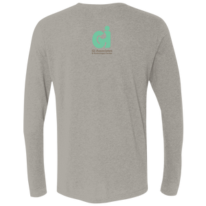 Next Level Men's Triblend LS Crew