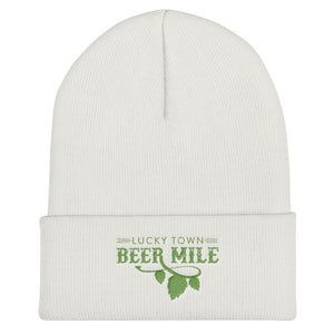 Lucky Town Beer Mile Cuffed Beanie