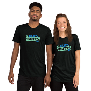 Guts and Butts 5k tri blend unisex t-shirt
