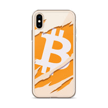 Load image into Gallery viewer, Ripped Bitcoin IPhone Case
