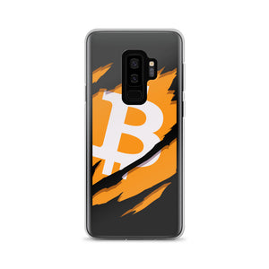 Ripped Bitcoin Samsung Case