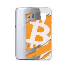 Load image into Gallery viewer, Ripped Bitcoin Samsung Case