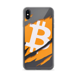 Ripped Bitcoin IPhone Case