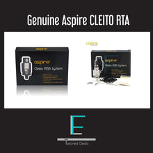 Load image into Gallery viewer, Genuine Aspire CLEITO RTA SYSTEM Head Coil  RDA RBA Replacement For Aspire Tank - Uni Vapes