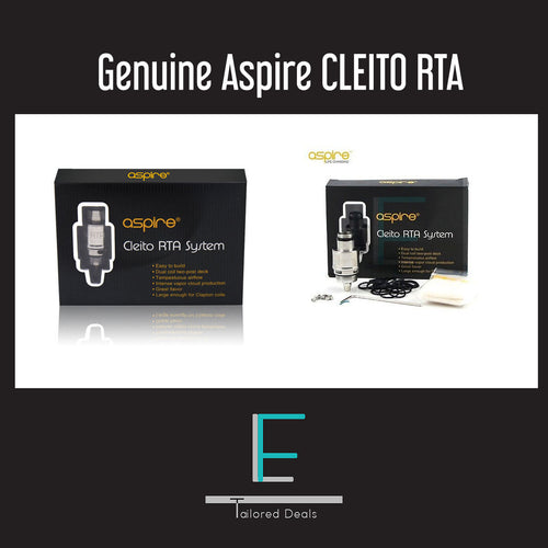 Genuine Aspire CLEITO RTA SYSTEM Head Coil  RDA RBA Replacement For Aspire Tank - Uni Vapes