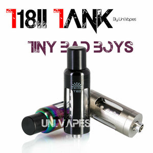 Innokin T18II I T18 V2 Tank I 2 x 1.5Ω Coils included I Free Spare Drip Tip - Uni Vapes