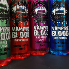 Load image into Gallery viewer, Vampire Blood  E liquid Vape Juice - 50/50 PG/VG - 50ml - 100ml - Uni Vapes