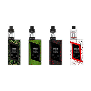 SMOK ALIEN VAPE KIT 220W TC MOD TFV8 BABY TANK | Free Bulb Glass |  Sealed | 2ML - Uni Vapes