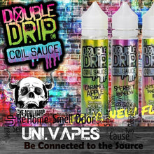 Load image into Gallery viewer, Double Drip Coil Sauce - Short Fills - 50ML- High VG 80/20 - Uni Vapes