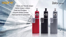 Load image into Gallery viewer, Genuine Aspire Zelos 50w Kit - Nautilus 2 Tank - Uni Vapes
