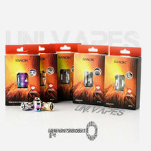 Load image into Gallery viewer, SMOK TFV8 BABY V2 MINI  V2 - A1 - A2 -A3 - S1 - S2 - K1 - K4 Coils 3 Pcs Or 9 - Uni Vapes