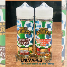 Load image into Gallery viewer, Ken & Kerrys dessert E Liquid Vape Juice 100ml 70/30 VGPG - Uni Vapes