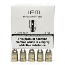 Load image into Gallery viewer, Innokin JEM Replacement Coils (5 Pack) - 1.6 ohm - Uni Vapes
