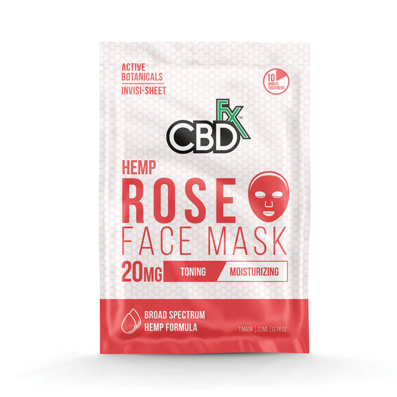 CBD Face Mask – Rose - Uni Vapes