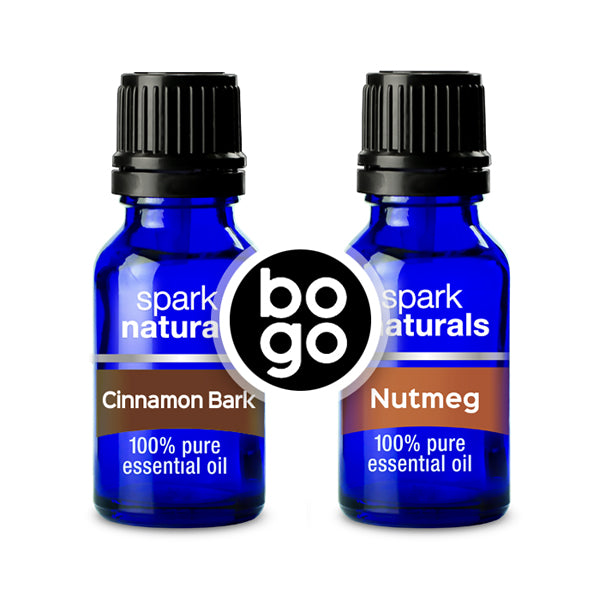 BOGO - Cinnamon 15ml + Nutmeg 15ml
