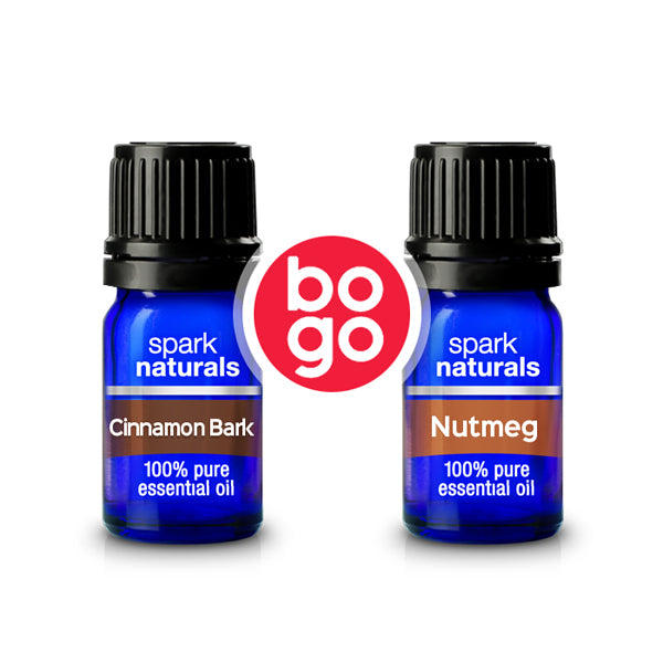 BOGO - Cinnamon 5ml + Nutmeg 5ml