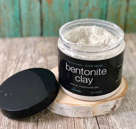 Bentonite Clay Powder 16oz - Spark Naturals