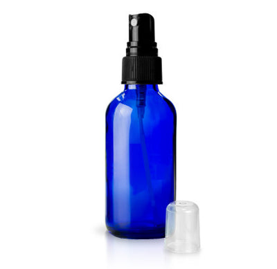 4 oz. Glass Spray Bottle | Blue