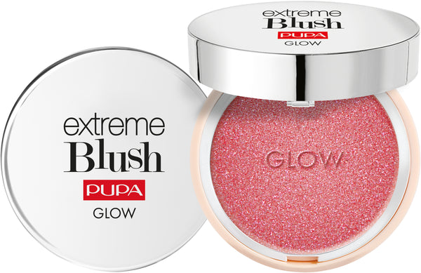 PUPA MILANO EXTREME BLUSH GLOW - Hightlighting hehkuva poskipuna