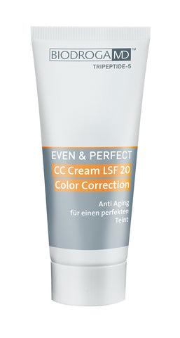 BIODROGA MD CC CREAM SPF 20 COLOR CORRECTION - Anti-age värinkorjausvoide aurinkosuojalla