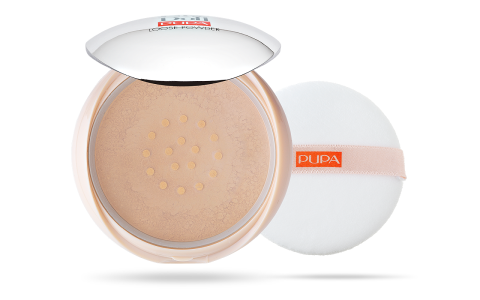 PUPA MILANO LIKE A DOLL LOOSE POWDER - Irtopuuteri.