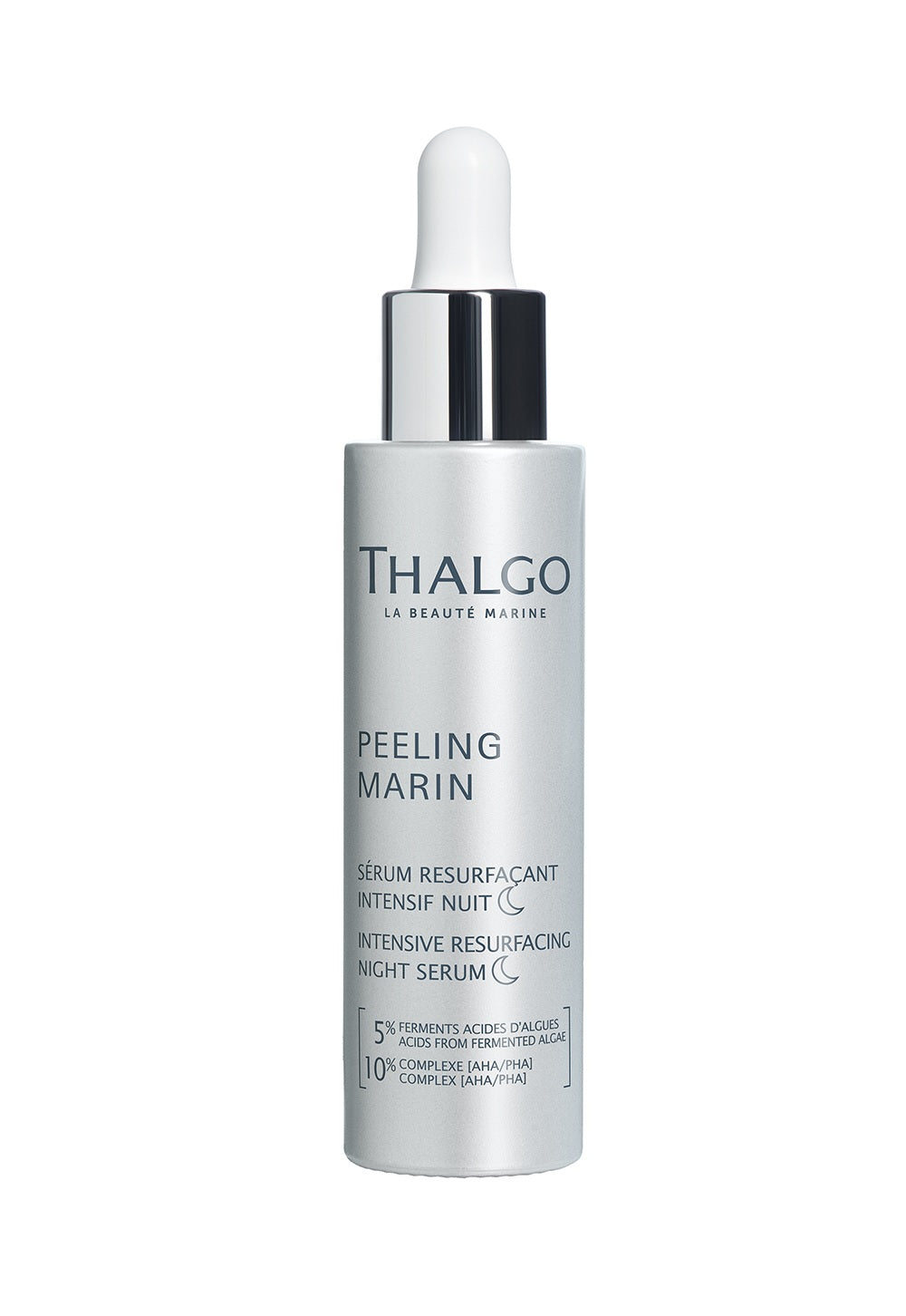THALGO INTENSIVE RESURFACING NIGHT SERUM - Ihoa kirkastava, uusiva ja  kuoriva yöseerumi