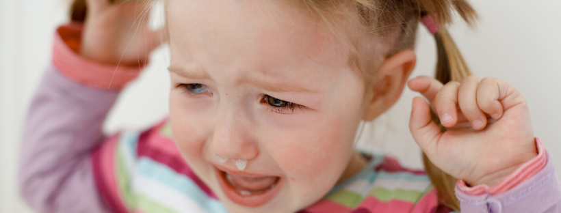 At what age do temper tantrums stop?